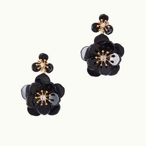 Lilly Pulitzer Onyx Moonlight Garden Earrings